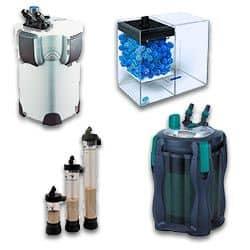Los accesorios acuarios de Filtración Externa para Acuarios y peceras más baratos en Acuario3web.com