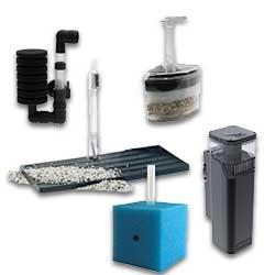Filtros internos para tanques de agua salada
