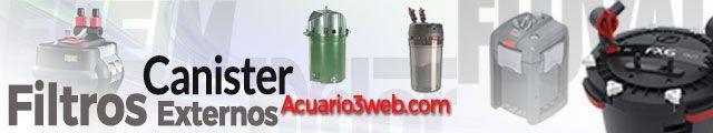Filtro Canister para acuario