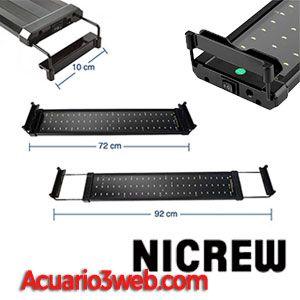 Nicrew LED lámparas para acuarios