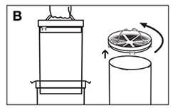 Limpia bien las cargas de tu filtro externo para acuario eheim 2213