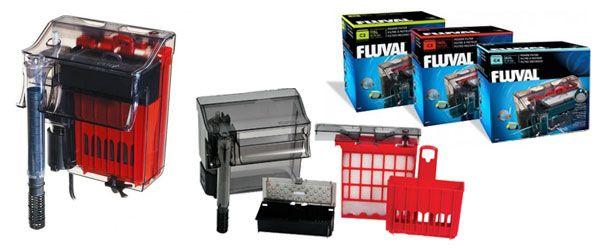 Descripción del filtro de mochila Fluval C Series