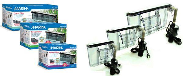 Línea de filtros de cascada para peceras Marina Slim S10, S15 y S20