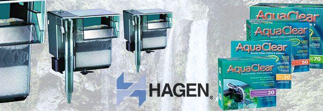 Descripción Del Filtro De Cascada AquaClear De HAGEN