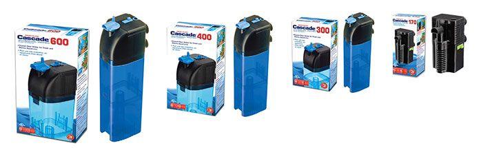 Serie de filtros internos Penn Plax Cascade 175 - 300 - 400 - 600