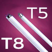 Bombilla t5 Tubo fluorescente para acuario