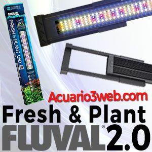 Pantalla FLUVAL Fresh & Plant 2.0 LED