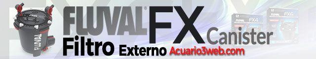 Fluval Serie FX - Gama de filtros exteriores para pecera