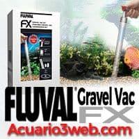 Compatible con el aspirador de gravilla Fluval FX Gravel Vac