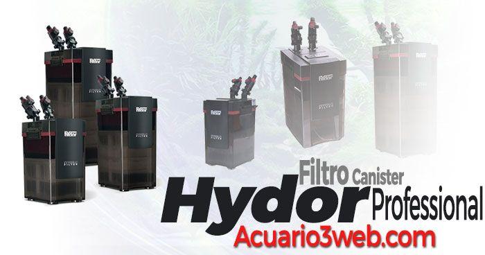 Review del filtro externo Hydor Professional