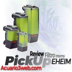 Sistema de fijación del filtro interno Eheim PickUp