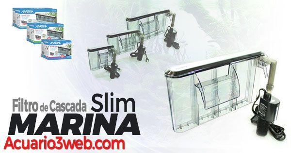 Análisis y revisión del filtro de mochila para acuarios y peceras Marina Slim Serie