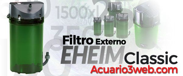 Review del Filtro Exterior Eheim Classic