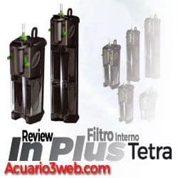 Filtro interno para pecera Tetra IN Plus