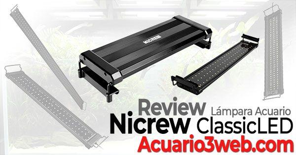 Nicrew ClassicLED luz LED para acuarios y peceras