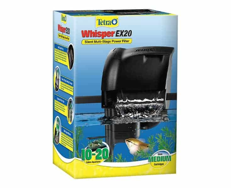 Filtro de potencia para acuarios Tetra Whisper EX