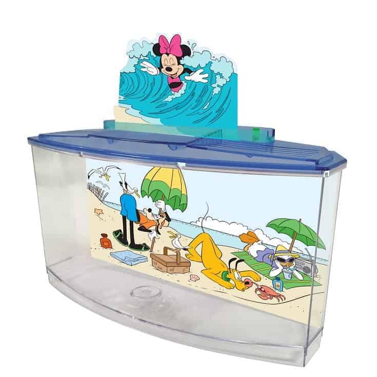 Kit de tanque Penn Plax Classic Disney Betta, 0.7 gal.